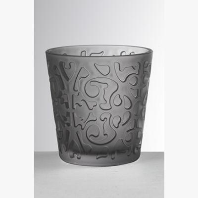 Siviglia Frost Grigio - Set Bicchieri 6 Pezzi