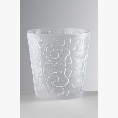 Siviglia Frost Trasparente - Set Bicchieri 6 Pezzi
