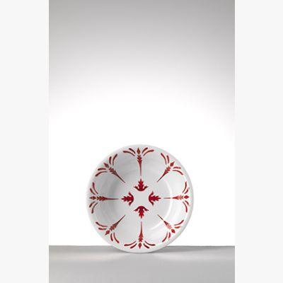 Tessa Rosso Piatto Fondo - Set 6 pezzi