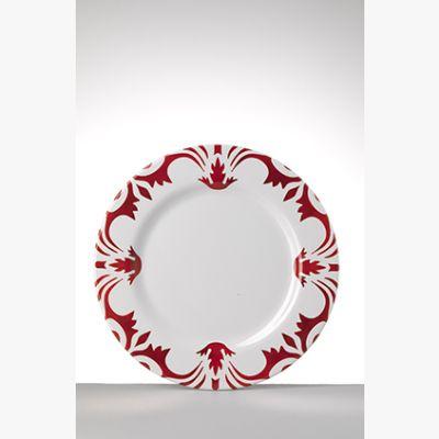 Tessa Rosso Piatto Medio - Set 6 pezzi