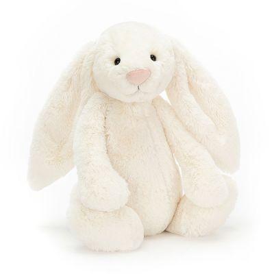 Bashful Cream Pink Bunny 36 cm