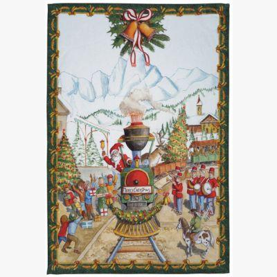 Christmas Express Verde Canovaccio