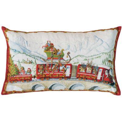 Christmas Express Cuscino Rettangolare