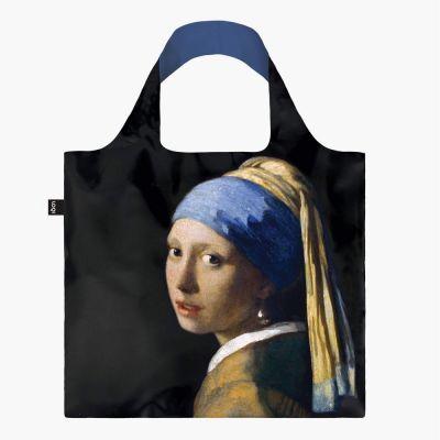 Johannes Vermeer, Girl with a pearl earring, Tote Bag