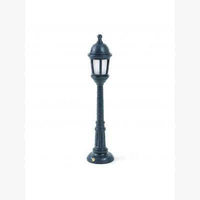 Street Lamp Dining Grigio Scuro
