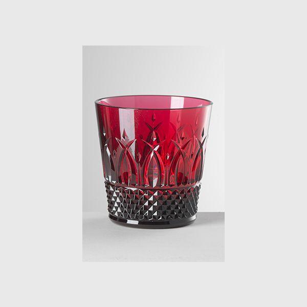 Italia Acqua Rubino - Set Bicchieri 6 Pezzi